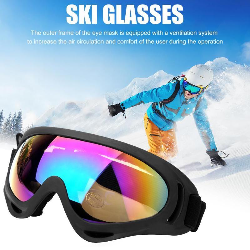 2/4 пар зимние хорошие противопыльные лыжные очки UV400 ветрозащитные очки для активного отдыха альпинизма велоспорта спортивные очки