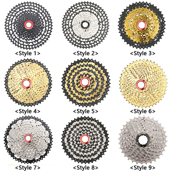 MTB Bicycle Freewheel 8/9/10/11/12 Speed 25 28 32 40 42 50 52T Mountain Bike Cycling Flywheel Cassette Sprocket Chain Wheel Part image