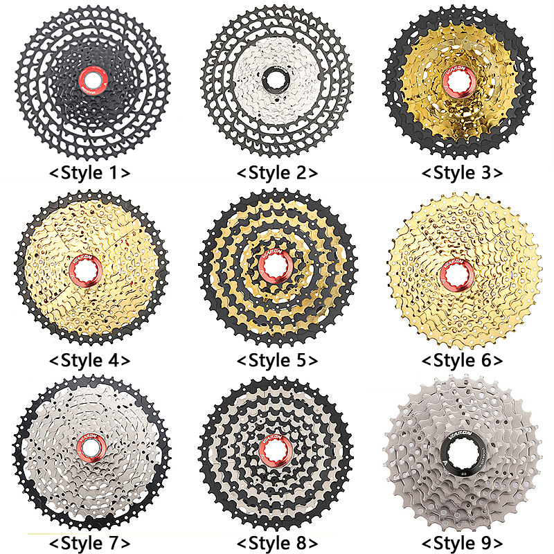 MTB Bicycle Freewheel 8/9/10/<font><b>11</b></font>/12 Speed 25 28 32 40 <font><b>42</b></font> 50 52T Mountain Bike Cycling Flywheel <font><b>Cassette</b></font> Sprocket Chain Wheel Part image
