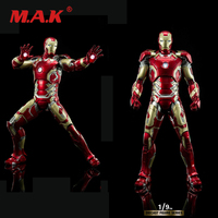 New arrival 1/9 Scale King Arts DFS009 Iron Man MK43 Solider Figure Diecast Collectible Toy in stock
