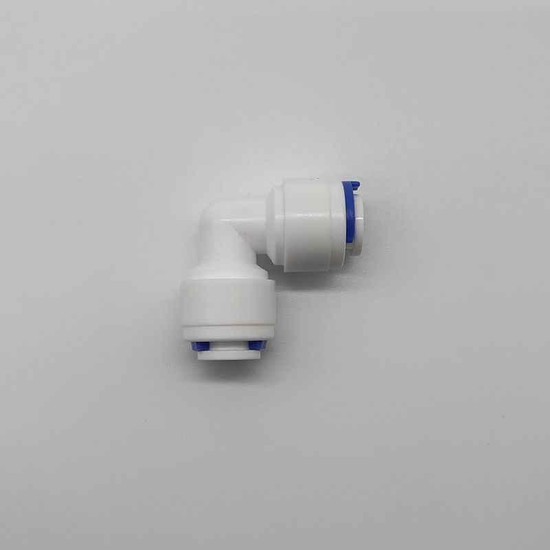"""1/4 """" - 1/4"""" OD boru polietilen boru bağlantı hortumu dirsek hızlı bağlantı akvaryum RO su filtresi ters osmoz sistemi"""