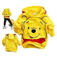Disney Winnie De Pooh Sweater Jongens Kleding Leuke Cartoon Kostuums Kid Jas Baby Jassen Herfst Winter