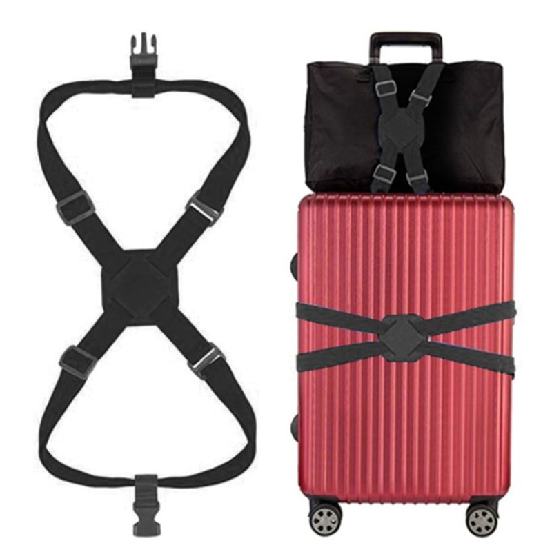 Elasticity Luggage Belt Travel Bag Parts Suitcase Fixed Belt Trolley Adjustable Security Accessories Supplies Products HW664