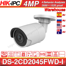Hikvision DS 2CD2045FWD I POE Kamera Video Überwachung 4MP IR Netzwerk Dome Kamera 30 M IR IP67 H.265 + SD Card Slot