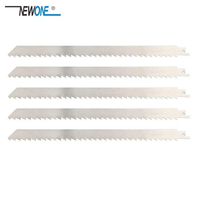 Hoja de sierra recíproca de acero inoxidable NEWONE de 300mm accesorios para herramientas eléctricas hojas de sierra para cortar carne congelada y huesos