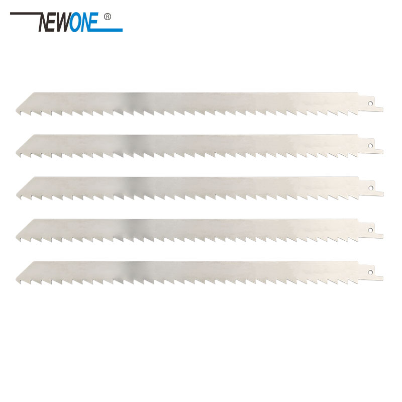 NEWONE 300mm Stainless Steel Reciprocating Saw Blade Power Tool Accessories Saw Blades For Frozen Meat And Bone Cutting