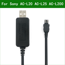 5V USB AC L20 AC L25 AC L200 Power Adapter Caricatore Del Cavo di Alimentazione Per Sony DCR SR57 DCR SR58 DCR SR60 DCR SR62 DCR SR65