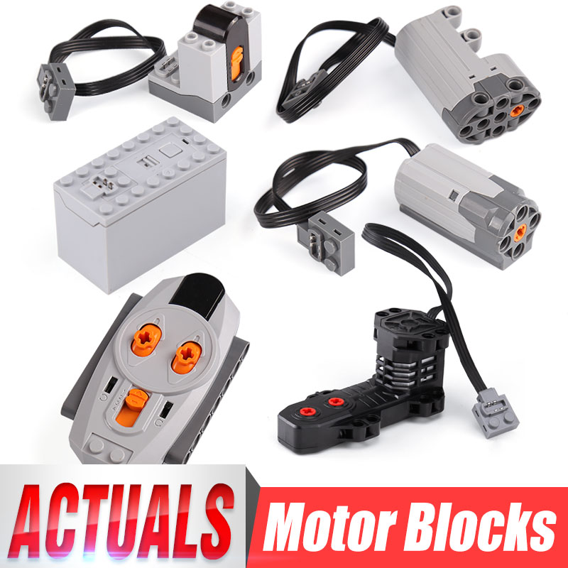 Power Functions M Motor 8883 Part For Lego Electric Assembled Building Block