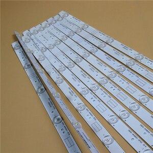 "TV LED Full Array Bar For Sencor SLE49F57TCS 49"" LED Backlight Strip 5800-W49001-1P00 Matrix Kit LED Lamps Lens Bands RDL490FY(China)"