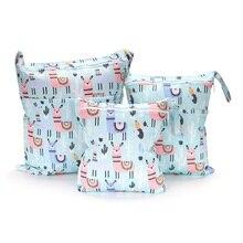 [CHOOEC] 2020 New Wet Bag Washable Reusable Cloth diaper Nappies Bags Waterproof Swim Sport Travel Carry bag for 3 piece suit