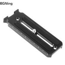 BGNing evrensel yatay dikey çekim hızlı bırakma plakası DSLR kamera taşınabilir aksesuarları Ronin SC sabitleyici