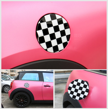 Fuel Tank Gas Cap Cover Trim ABS for Mini Cooper F Series F55 Hardtop F56 Hatchback F57 1.5T 1.6T Covertible Car Decal Stickers 2pcs door handles abs cover cap trim for mini cooper f series f56 hatchback f57 covertible fashion car stickers decals 2b type