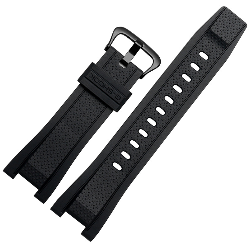 Rubber <font><b>watchband</b></font> for Casio <font><b>G</b></font> <font><b>SHOCK</b></font> GST Series GST-210/W300/400G/B100 Waterproof Silicone watch band men straps Accessories 26*14 image