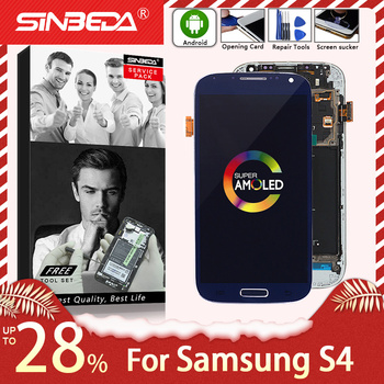 5.0Super AMOLED For SAMSUNG Galaxy S4 LCD Display Touch Screen with Frame Digitizer Assemble For SAMSUNG S4 Display i9505 i9500 for samsung samsung s4 i9505 100 page 5