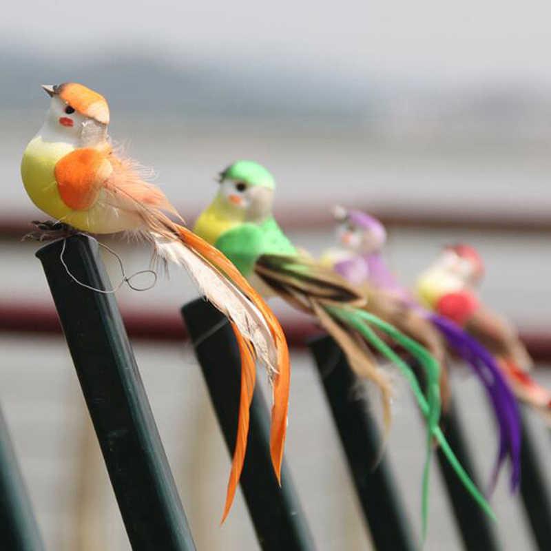 2020 künstliche Schaum Feder Simulation Vogel DIY Party Handwerk Ornament Requisiten Home Garten Hochzeit Dekoration