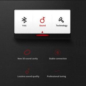 Image 2 - Настоящие беспроводные наушники T1, Bluetooth наушники Премиум звук со светодиодным индикатором/Smart Touch/микрофон/водонепроницаемый/ремешок