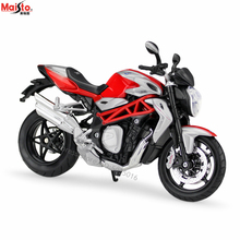Maisto 1:12 MV Augusta 1090 RR simulation alloy motocross Series original authorized motorcycle model toy car Collecting gifts