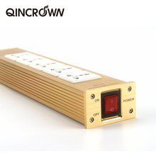 HIFIDIY לחיות QG K1 QG K2 HIFI אודיו כוח מסנן שקע HiFi כוח מסנן צמח Schuko Socket