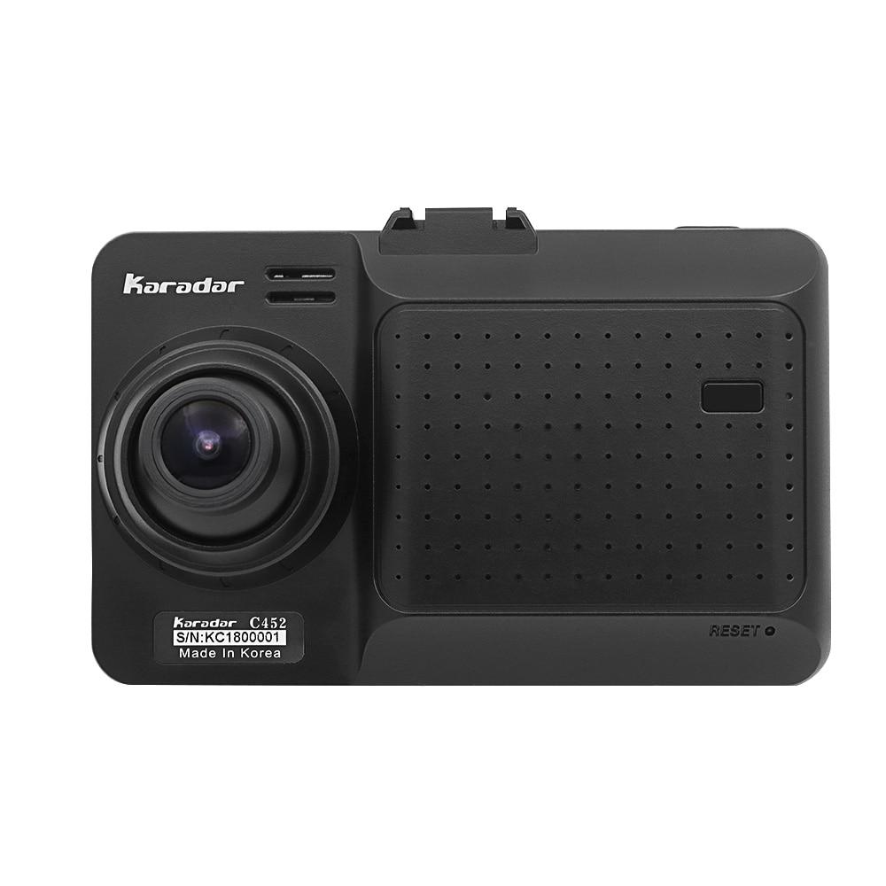 Karadar 4 in 1 Car GPS anti radar detector Navigation 1080P DVR Dash Cam Android RAM512 8GFlash WIFI FM BT built in Camera - 3