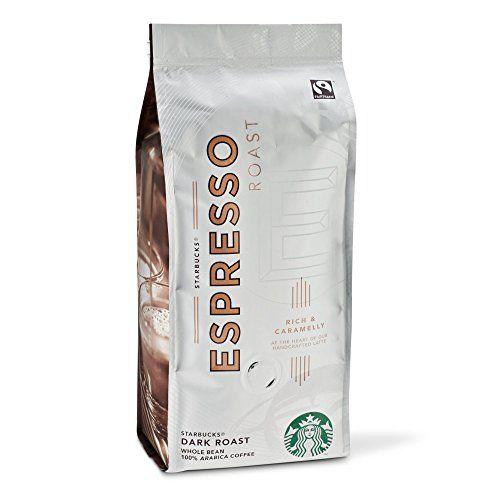 Starbucks Fairtrade Dark Espresso Roast Whole Bean Coffee 227g