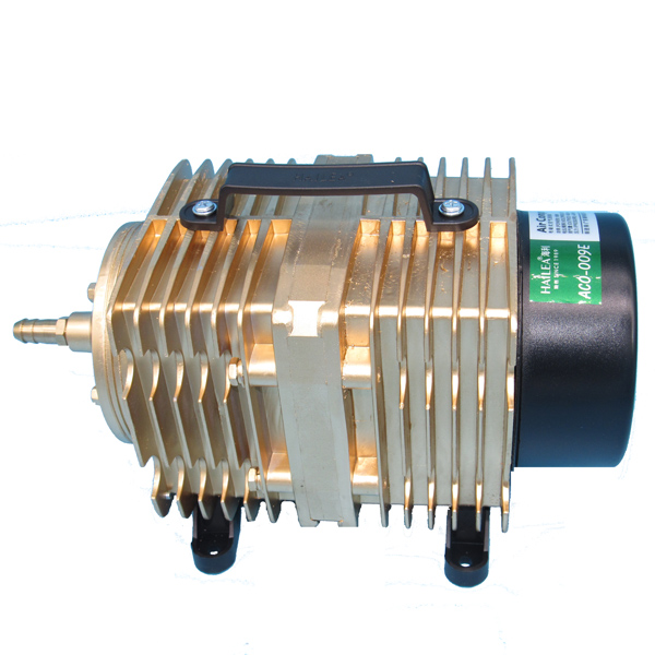 <font><b>ACO</b></font>-<font><b>009E</b></font> 160W Air Compressor Electrical Magnetic Air Pump for CO2 Laser Engraving Cutting Machine image