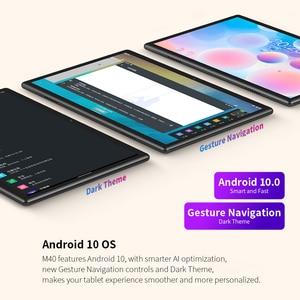 Image 5 - 최신 10.1 인치 태블릿 Teclast M40 안드로이드 10.0 6GB RAM 128GB ROM Mali G52 3EE GPU 8MP 카메라 블루투스 5.2 4G 전화 통화 WiFi