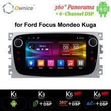 Ownice K1 K2 K3 Android Car DVD Player 2 Din radio GPS Navi for Ford Focus Mondeo Kuga C-MAX S-MAX Galaxy Audio Stereo Head Unit(China)