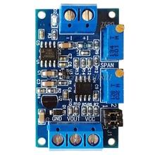 Current To Voltage Module 0/4-20mA To 0-3.3V 5V 10V Voltage Transmitter S08 Drop ship signal isolation transmitter current voltage transmitter multiple input multiple output 4 20ma 0 5v 0 10v