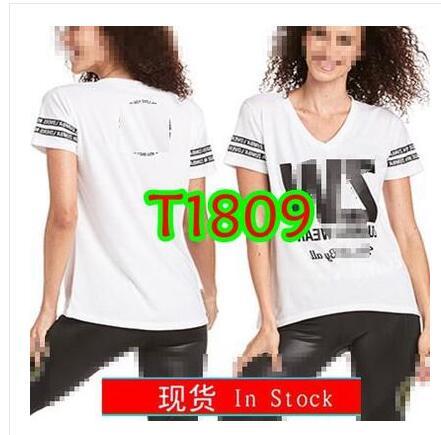 New Womens Dance  Clothes  Tops Running Sports T Shirt T1809