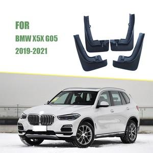 Image 3 - FRONT REAR Splash Guards Mudflaps Car Fenders Mudguards Mud Flaps For BMW X5X X5M Sport 2019 2021 G05 Car Accessories 2019 2021