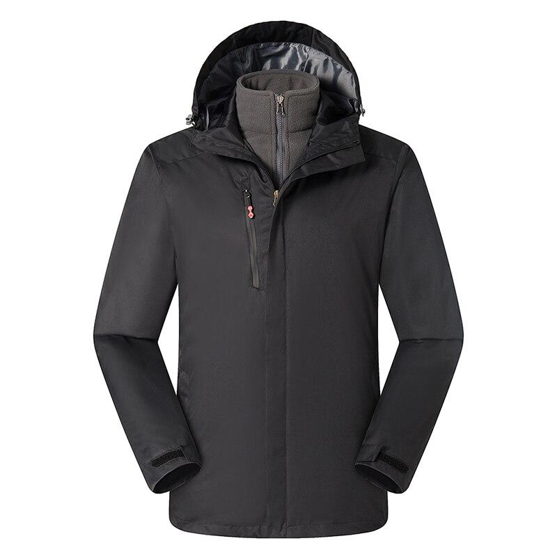 Мужская повседневная бейсбольная куртка, весенне осенняя Модная приталенная Мужская куртка, тонкие куртки, повседневное пальто высшего ка... - 3