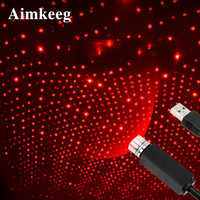 Mini LED Star Laser Projector Light USB Car dj disco Effects lights Ambient Night Lamp New Year christmas decorations for home