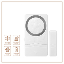Security Magnetic Door Alarm Sensors Window Sensor Alarm Home Security Protection 110dB Sound Entry Defense Alarma 58khz shoplifting deterrent security alarm systems supermarket security guard with sound and light alarm 1 set