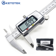 Metal 0 150mm/0.5mm Carbon Steel Fiber Vernier Caliper Gauge Micrometer Measuring Instruments