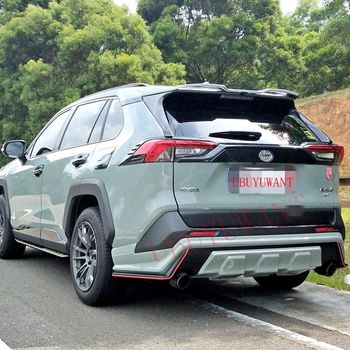 For 2019 2020 Toyota RAV4 New Spoiler High Quality ABS Material Car Resr Wing Lip Spoiler By Primer Color