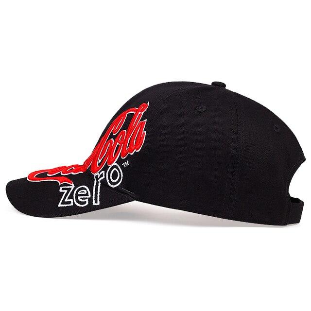 Nouveau côté tridimensionnel lettre broderie casquette de baseball mode marée extérieure hip-hop chapeau coton golf chapeau sport loisirs casquettes