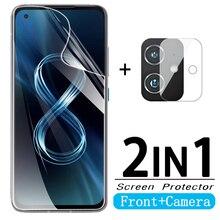 Hydrogel ฟิล์มสำหรับ Asus Zenfone 8กล้องฟิล์มสำหรับ Asus Zenfone8 Zen Fone 8 Asus ZS590KS ฟิล์มไม่ใช่แก้ว