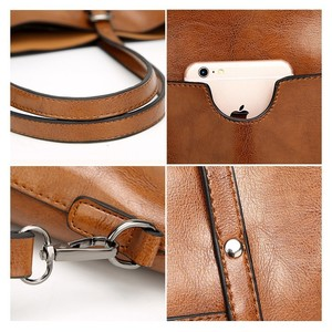 Image 5 - TTOU Fashion Large Capacity Women Tote Bag Quality Leather For Female Shoulder Bag Leisure Women Handbag Ladys Messenger Bags
