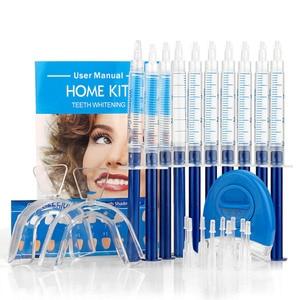 Teeth Whitening Kit 44% Peroxide Dental Bleaching SystemOral Gel Set Tooth Whitener Dental Tooth Care USA UK BR Do Dropshipping