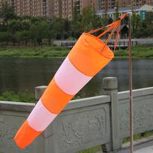 NEW Outdoor Aviation Windsock Bag Rip-stop Wind Measurement Weather Vane Reflective Belt Wind Monitoring Toy Kite 80/100CM