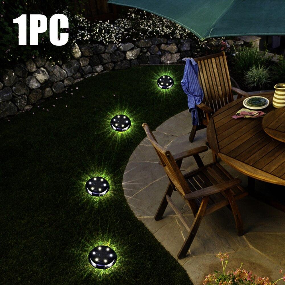 10 led garagem casa jardim abs mini no chão