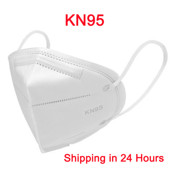 KN95 Nonwoven Dust Face Masks Dustproof Mask 5-Ply 95% Filtering Safety Protective KN95 Mask Nonwoven Anti-Haze Fog Face Masks