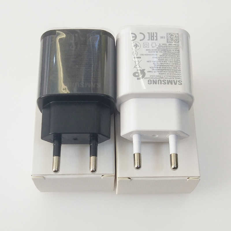 Samsung หมายเหตุ 10 Charger 25W EU Super Fast CHARGING Power Adapter สำหรับ Samsung Galaxy หมายเหตุ 10 Plus 5G a90 A80 A70 A60 S10 S9 S8