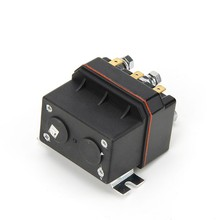 цена на 200A 12Vdc coil dc voltage control waterproof 12V dc contactor for electrical winch motor