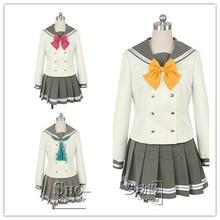 sunshine Aqours Salior School Uniform Costume cosplay summer ver Details about  /Lovelive