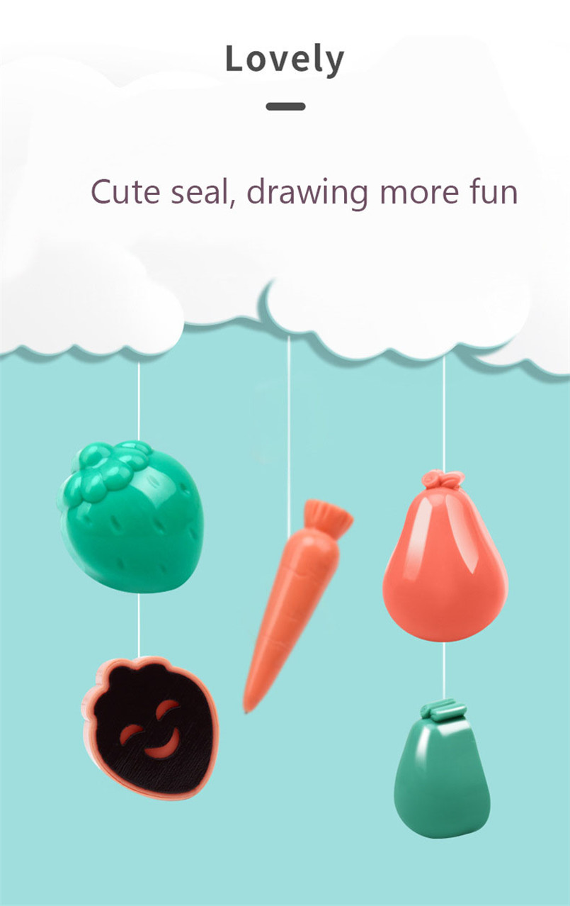 36*17cm Magnetic Drawing Board Desk Toys For Girls Boys Sketch Pad Doodle Writing Painting Table Art Learning Children Kids Toy 9