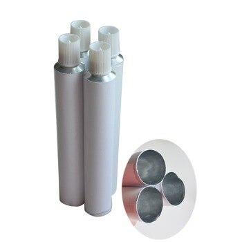1000 Uds. 30ml tubo de pasta de dientes blanco aluminio vacío tubo de viaje pasta de dientes al por mayor tubos de dessellado embalaje de protección