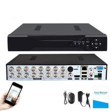 4CH /8CH /16CH AHD אבטחת CCTV DVR H.264 5MP/4MP AHD CVI TVI אנלוגי IP Camera5 5MP 4.0MP היברידי וידאו מקליט 4K וידאו פלט