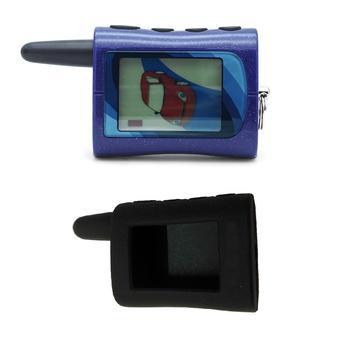 Livraison gratuite NFLH voiture porte-clés MA voiture télécommande pour scher-khan Magicar A LCD télécommande deux voies voiture alarme