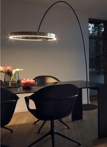 Mais recente moderna lâmpada de assoalho mais novo luz nórdico conduziu a lâmpada assoalho sala estar iluminação interior